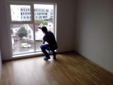 interiérové umývanie okien