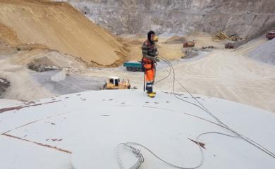 služba demolačné práce vo výškach